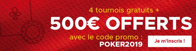 Betclic poker bonus